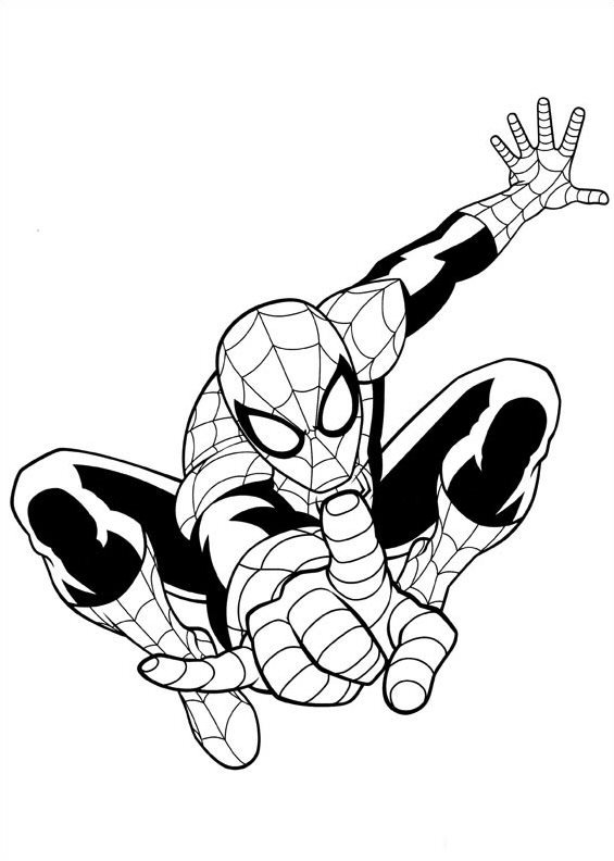 565x792 Kids N Fun Coloring Pages Of Ultimate Spider Man Ultimate