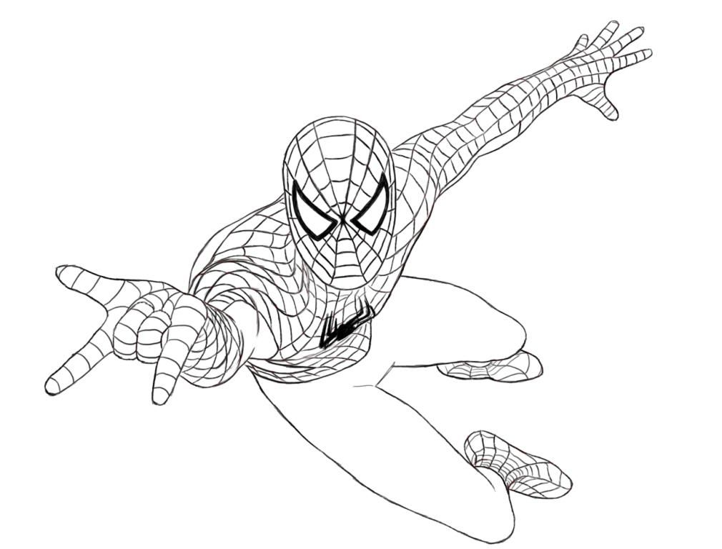 1010x768 Ultimate Spiderman Coloring Pages Coloring
