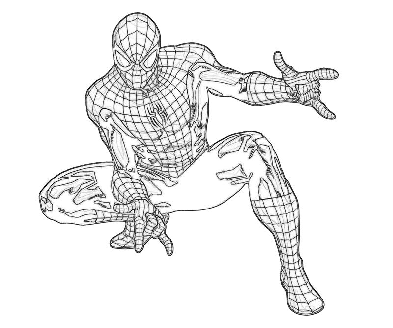 800x667 Ultimate Spiderman Coloring Pages Ultimate Spiderman Coloring