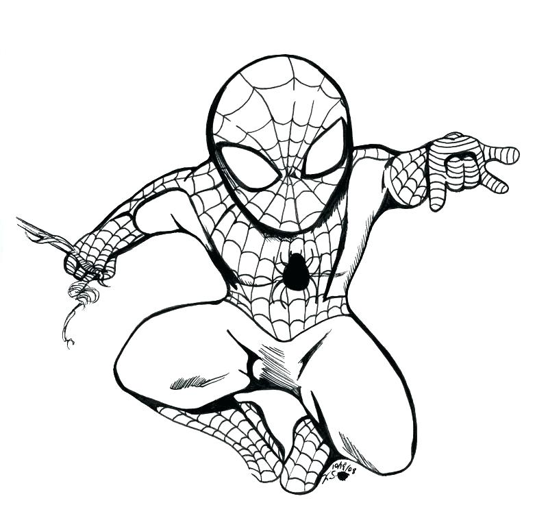 800x772 Kids N Coloring Pages Of Ultimate Spider Man Ultimate Spiderman