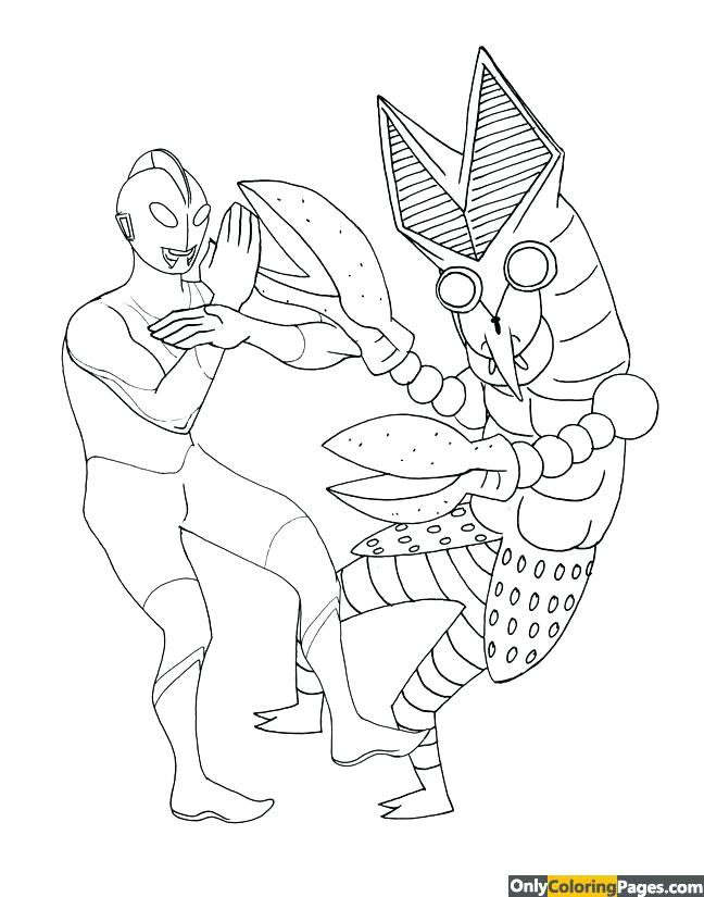 648x825 Ultraman Coloring Book Good Ultraman Coloring Book