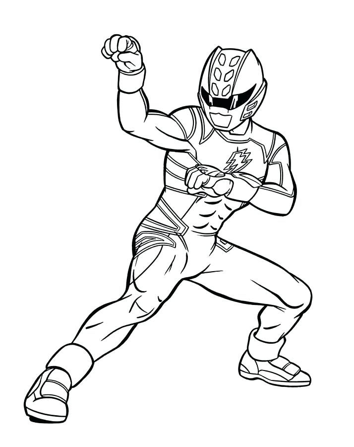 714x900 Ultraman Coloring Pages Blue Power Ranger Jungle Fury Power