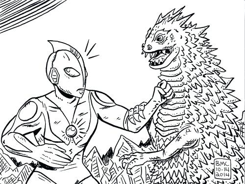 500x375 Ultraman Coloring Pages Ultraman Coloring Coloring Book Elegant