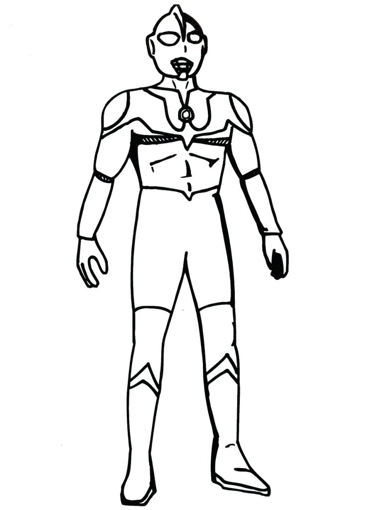 748x1024 Ultraman Coloring Pages Ultraman Zero Coloring Pages