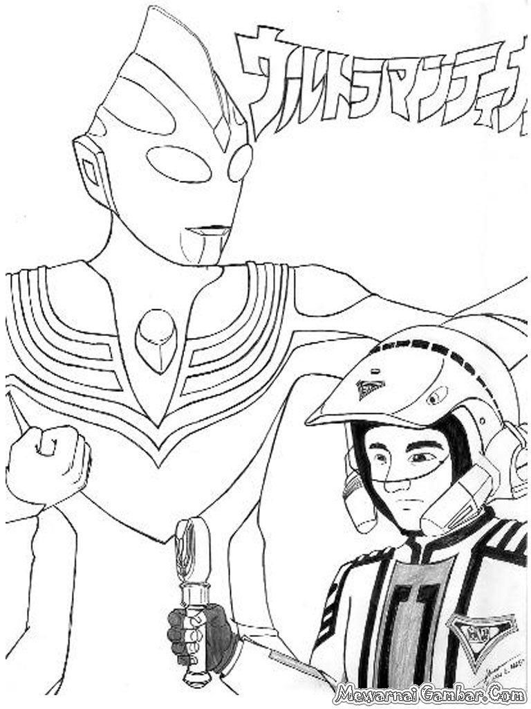 768x1024 Coloring Pages Ultraman Coloring Sheet