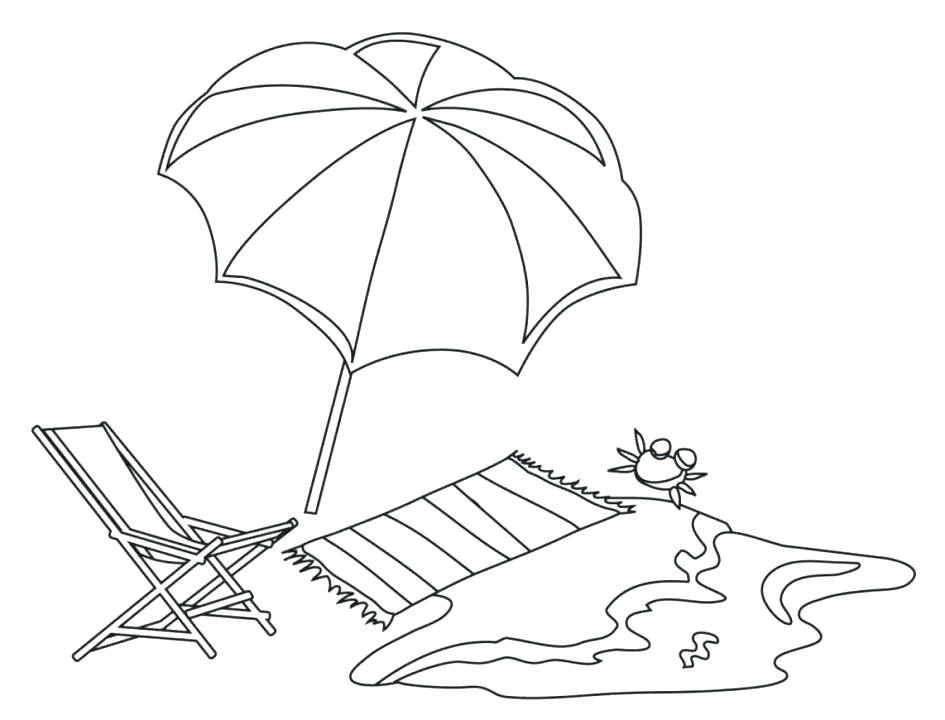 945x720 Coloring Umbrella Umbrella Colouring Page Coloring Pages