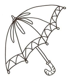 236x279 Printable Umbrella Coloring Page Kids Coloring Pages
