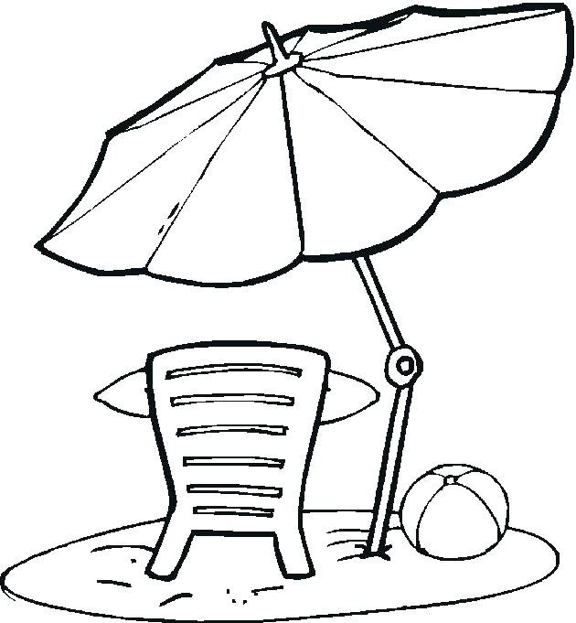 630x681 Umbrella Coloring Pages Coloring Umbrella Umbrella Colouring Page