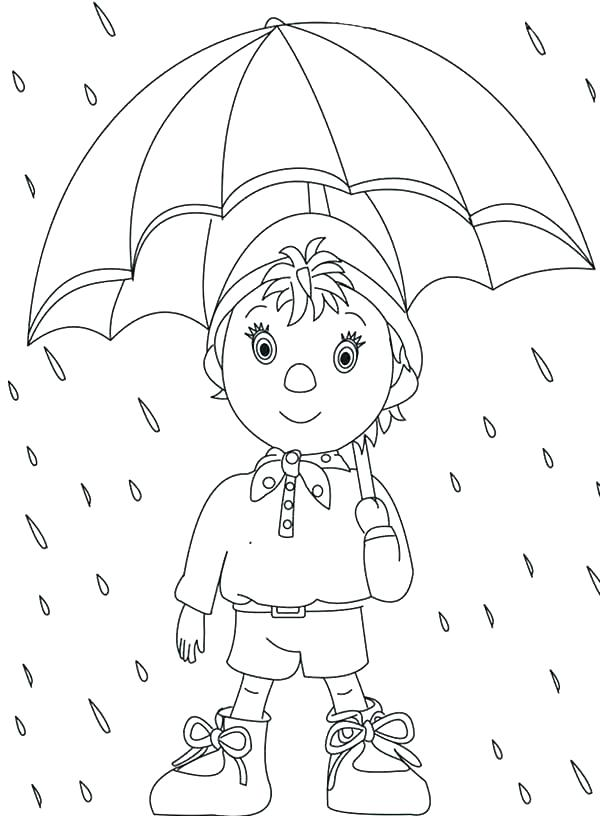 600x816 Umbrella Coloring Pages Umbrella Coloring Pages Free Umbrella