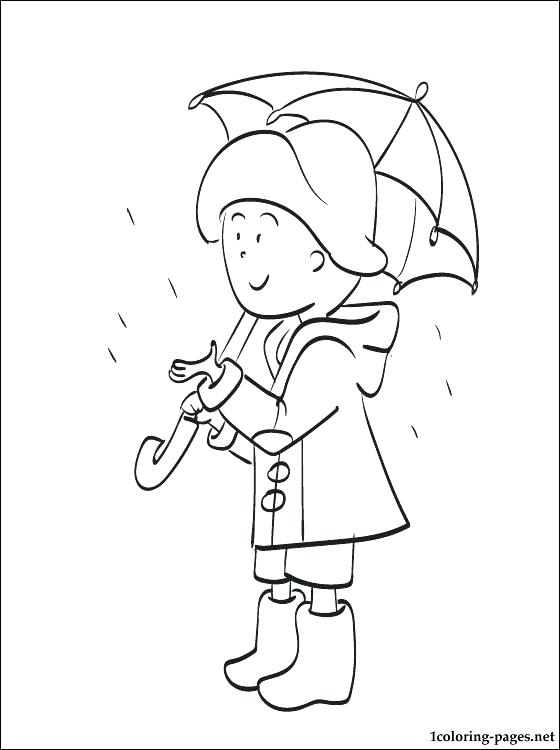 560x750 Umbrella Coloring Pages Umbrella Coloring Pages Little