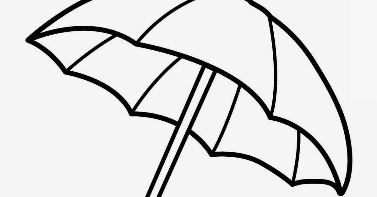 1200x630 Umbrella Coloring Pages Umbrella Coloring Page Images Umbrella