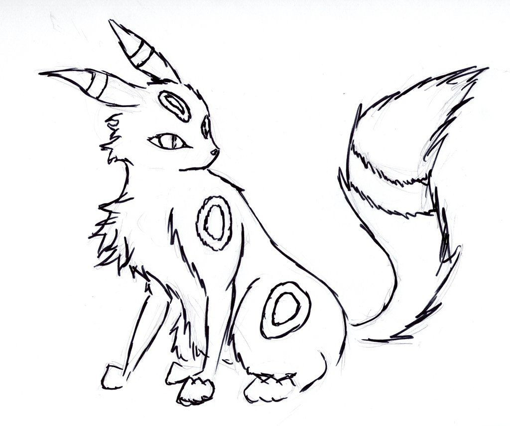 1024x855 Umbreon Coloring Pages Newyork Rp Com Beautiful Pokemon Acpra
