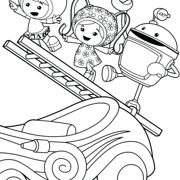 600x600 Team Umizoomi Coloring Pages Team Umizoomi Coloring Page Amazing