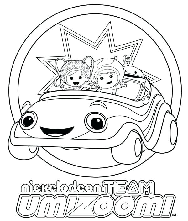 600x705 Umizoomi Coloring Nickelodeon Team Coloring Page Umizoomi Coloring