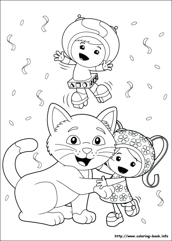 Umizoomi Coloring Pages Printable At Getdrawings Com Free For
