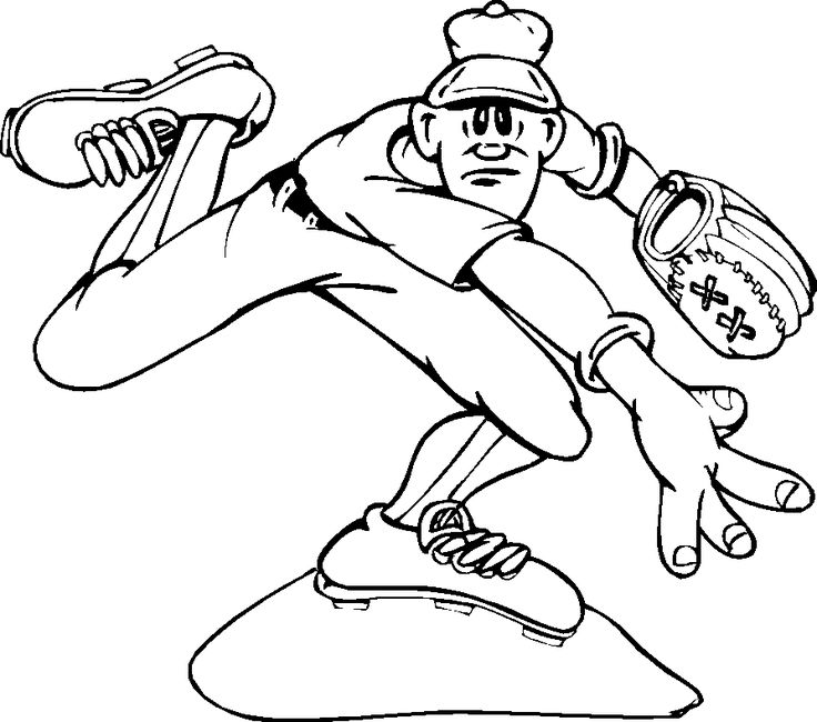 Umpire Coloring Page