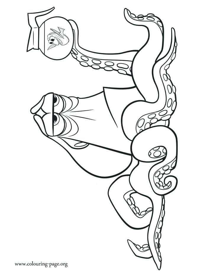 700x924 Finding Dory Coloring Pages In Addition To Hank And Dory Coloring
