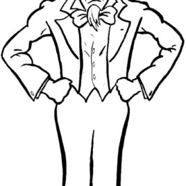 268x268 Uncle Sam Cartoon Coloring Page, Uncle Sam Coloring Page Coloring