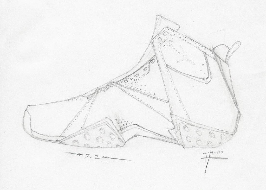 1105x790 Nike Air Jordan Shoes Coloring Pages, The Sneaker Colouring Book
