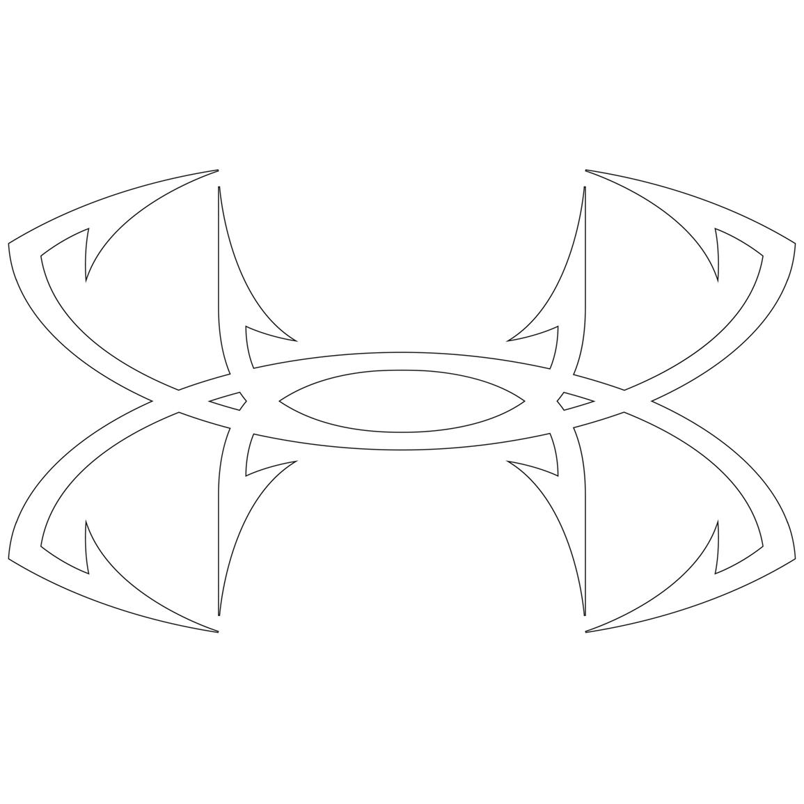 1155x1155 Under Armour Sign Coloring Pag
