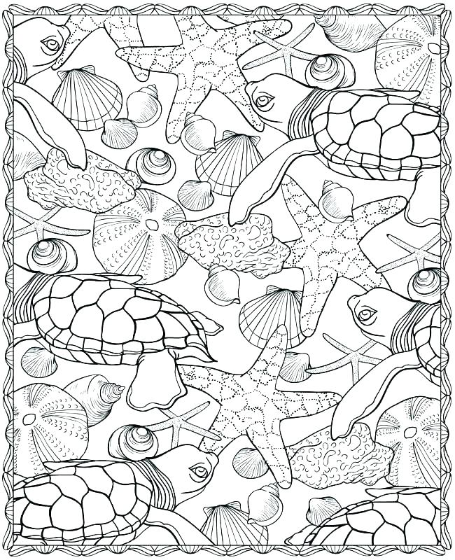 650x800 Sea World Coloring Pages Under The Sea Coloring Pages Coloring
