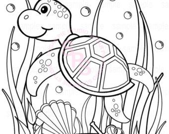 340x270 Under The Sea Coloring Pages