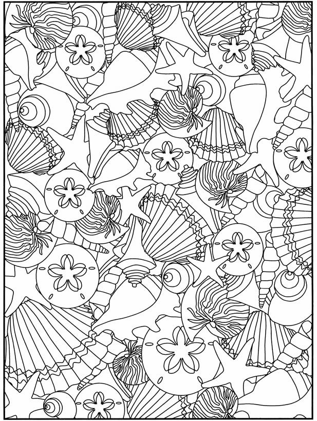 617x820 Best Under The Sea Coloring Pages For Adults Images