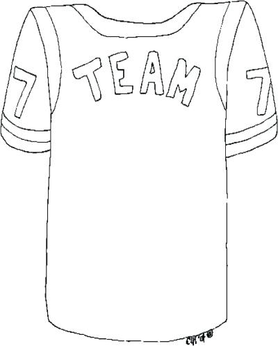 400x497 Shirt Coloring Pages Jersey Coloring Pages T Shirt Colouring Pages