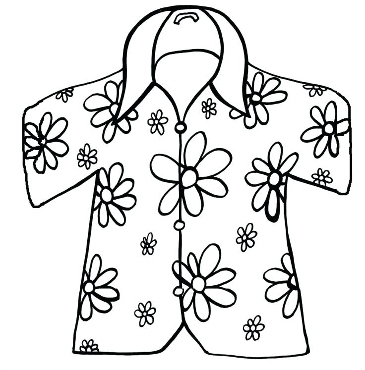 736x747 Shirt Coloring Pages Medium Size Of T Shirt Coloring Page