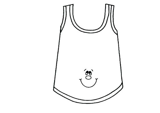 512x362 Shirt Coloring Pages Shirt Coloring Page Cartoon Pages T Shirt