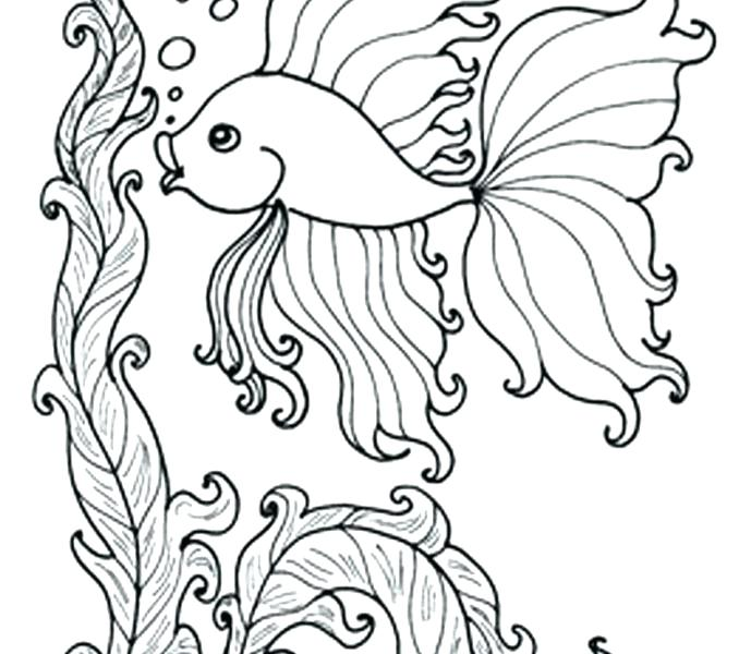 678x600 Ocean Scene Coloring Pages Underwater Coloring Pages Underwater