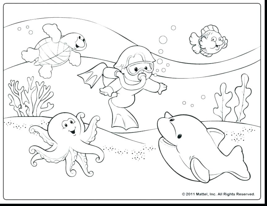 863x667 Outstanding Water Coloring Page Extraordinary Water Coloring Pages