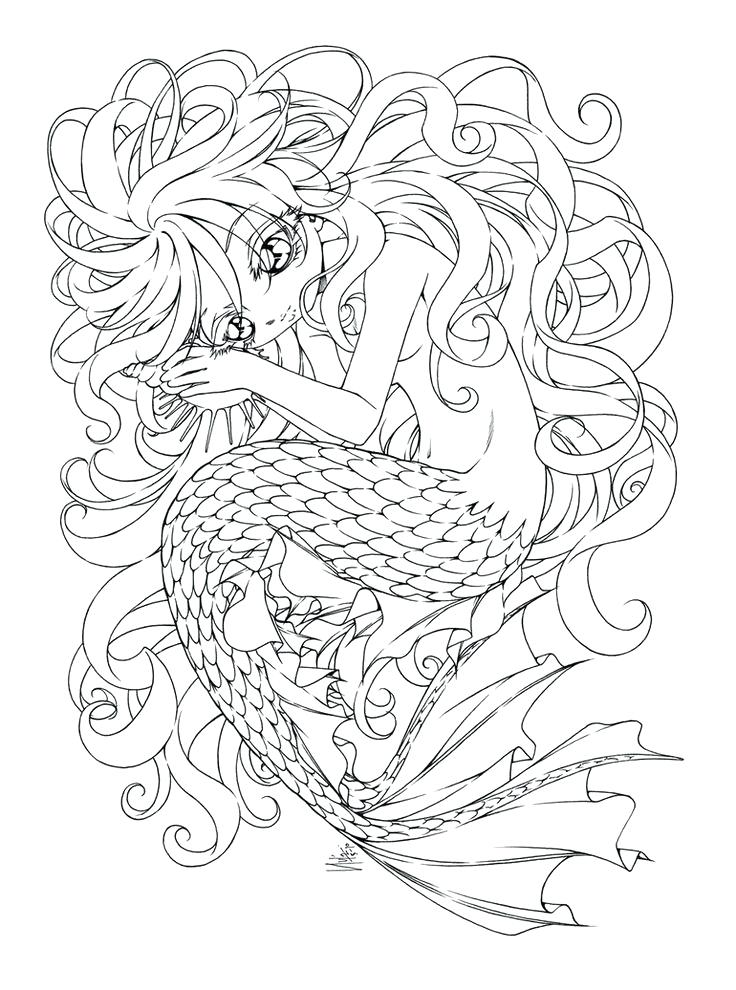 736x990 Ocean Scene Coloring Page Adult Coloring Pages Ocean Colouring