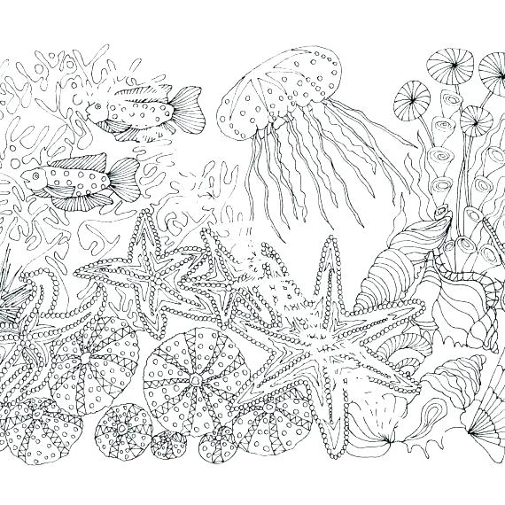 570x570 Printable Ocean Coloring Pages