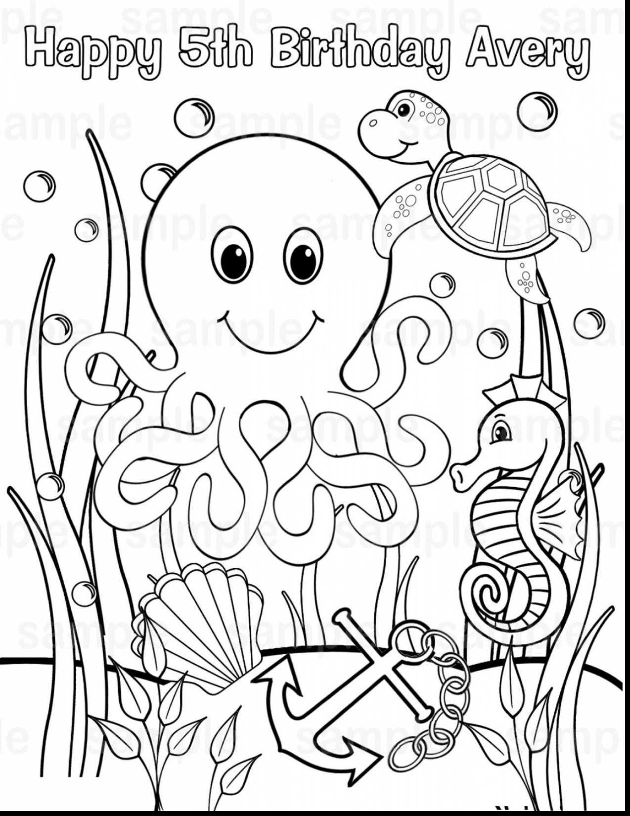 1274x1650 Amazing Ocean Scene Coloring Pages Value Underwater Adult Top