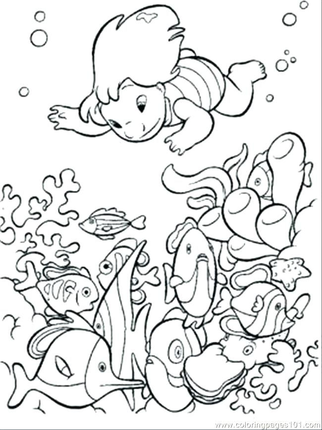 650x867 Underwater Coloring Page Underwater Coloring Pages Underwater Sea