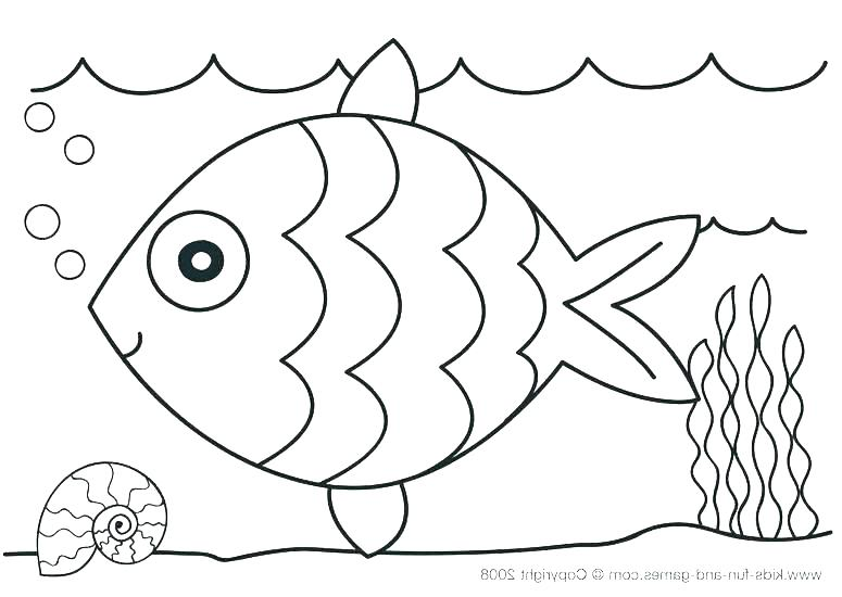 775x550 Underwater Coloring Pages