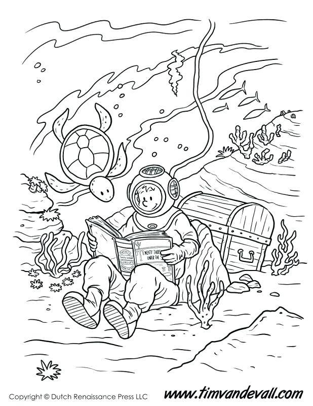 618x800 Astonishing Sea Creatures Coloring Pages Underwater Coloring Pages