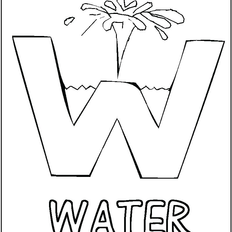 800x800 Coloring Pages Water Coloring Pages Watering Can Save Water