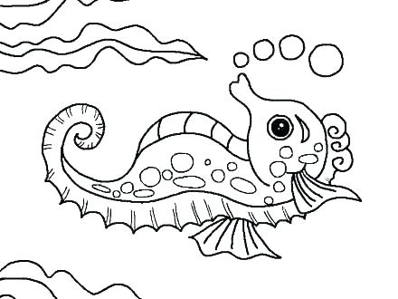 440x330 Ocean Scene Coloring Pages Underwater Sea Creatures Coloring Pages