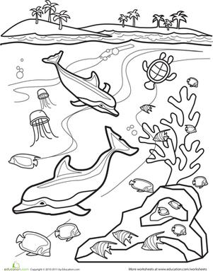 301x383 Underwater Worksheet