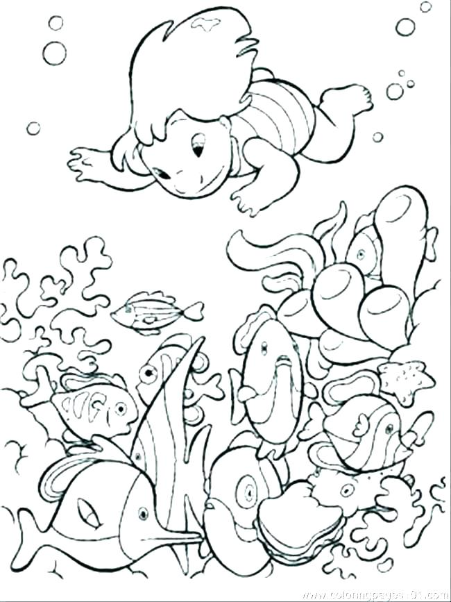 650x867 Underwater Coloring Page Underwater Coloring Page Coloring Pages
