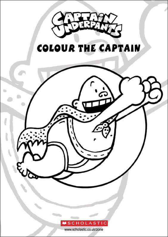 564x798 Captain Underpants Coloring Pages