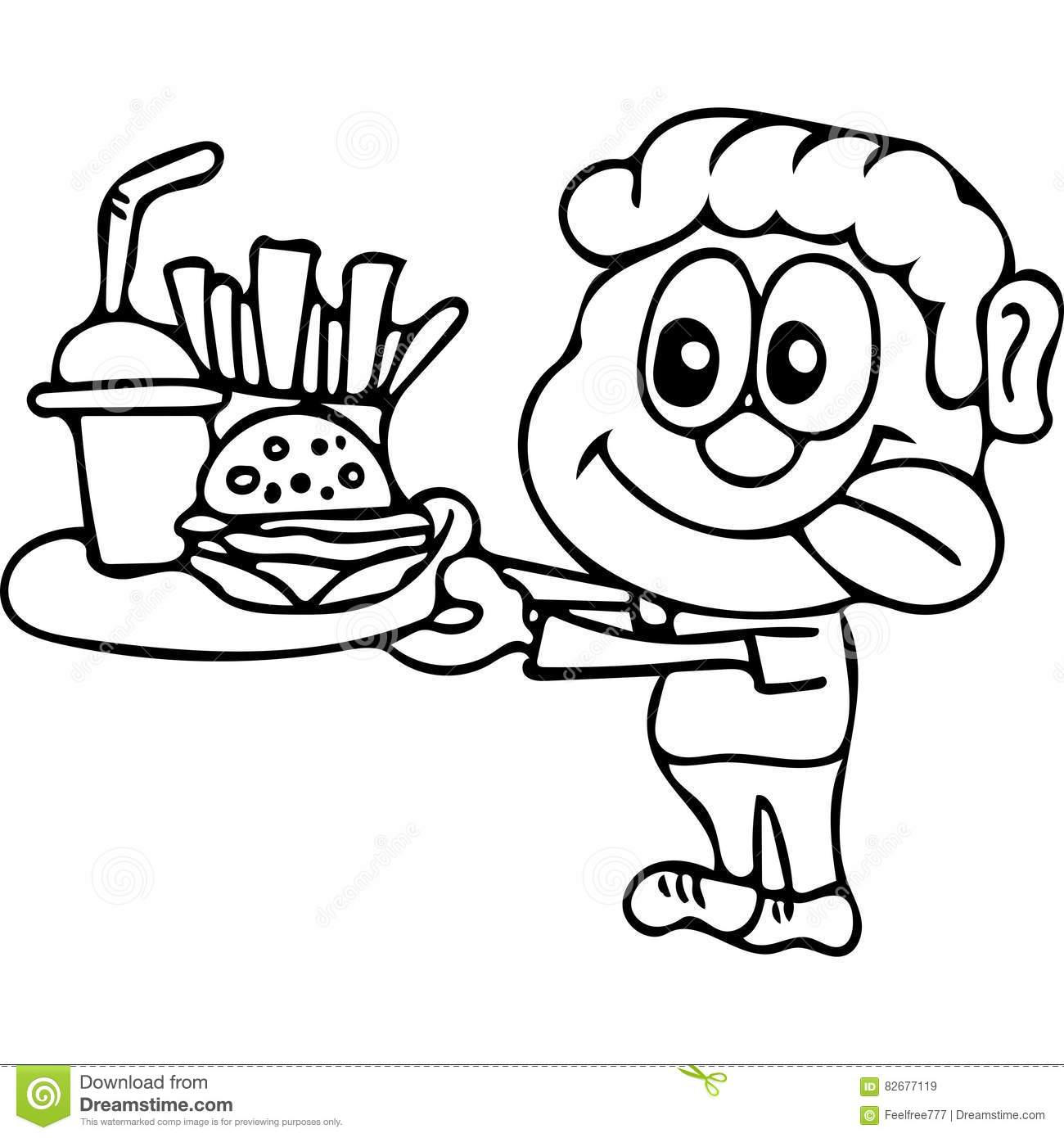 1300x1390 Modest Coloring Pages Of Fast Food New Unhealthy Gallery Free