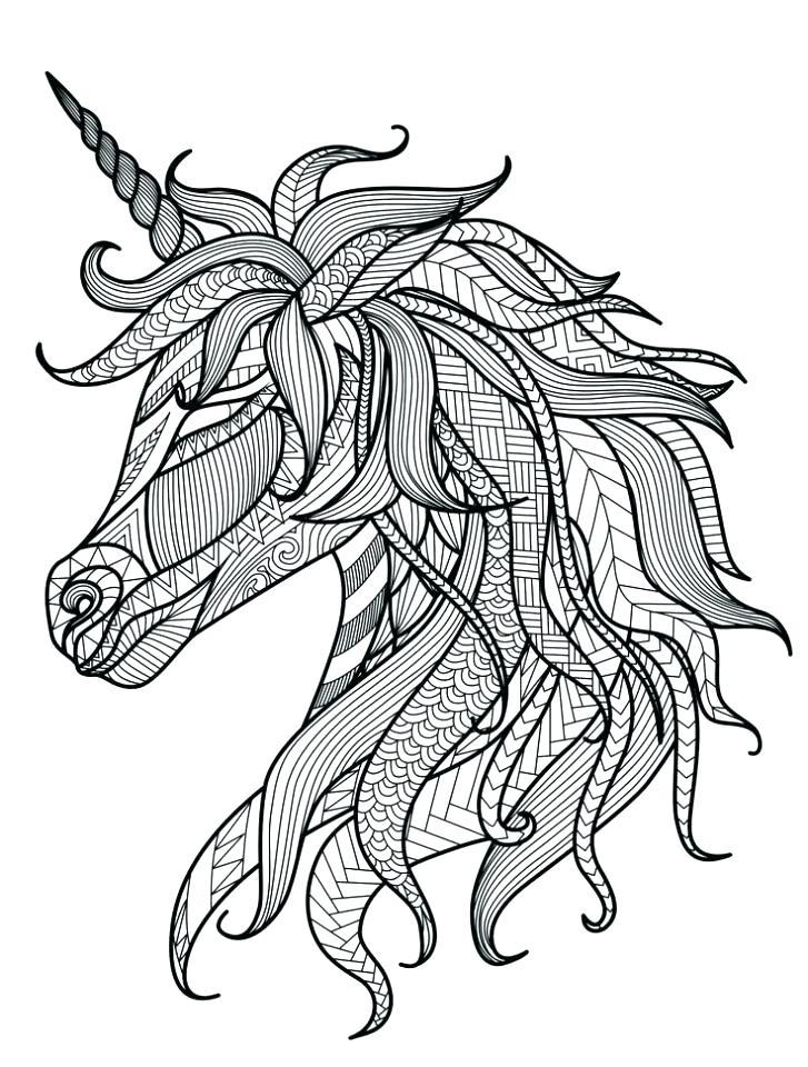 727x960 Unicorn Coloring Pages Unicorn Coloring Page Free Printable