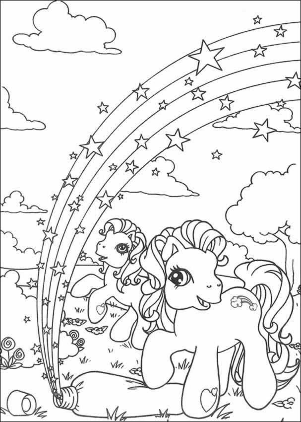 607x850 My Little Pony Coloring Pages