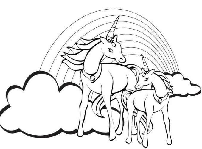 678x500 Printable Unicorn Coloring Pages Free Printable Unicorn Coloring