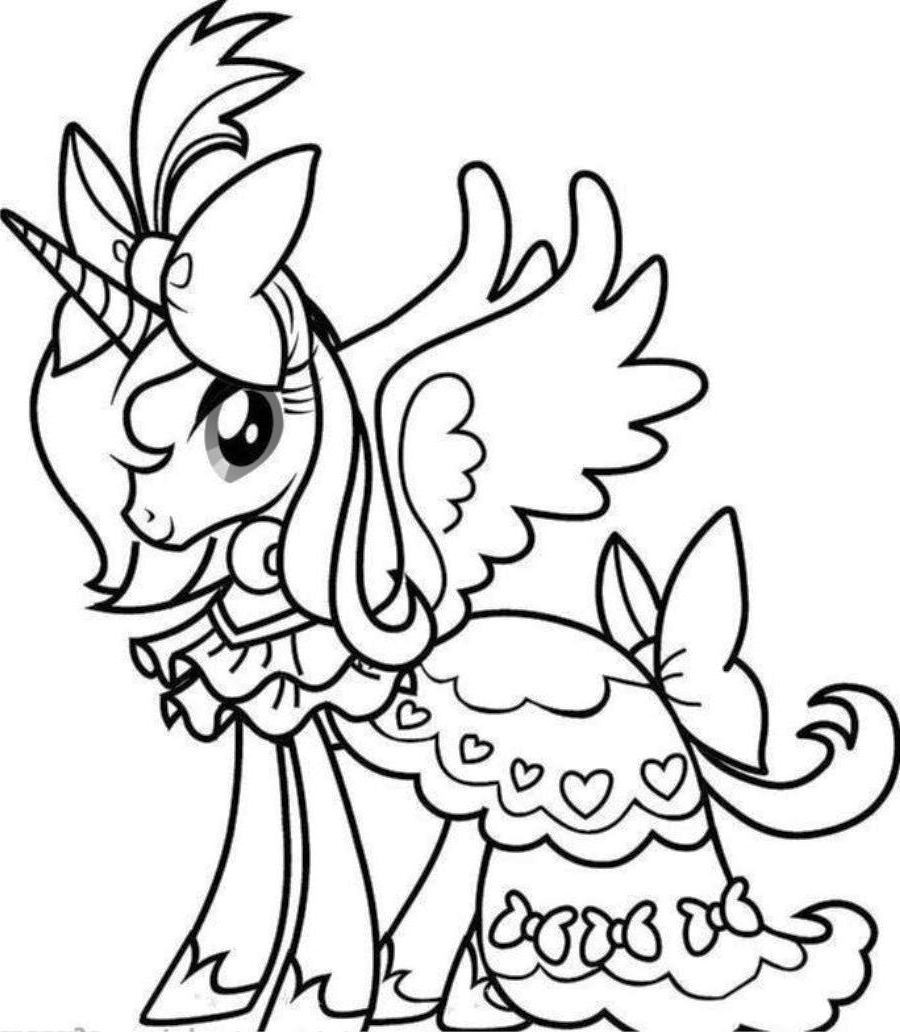 900x1032 Secrets Free Unicorn Coloring Pages