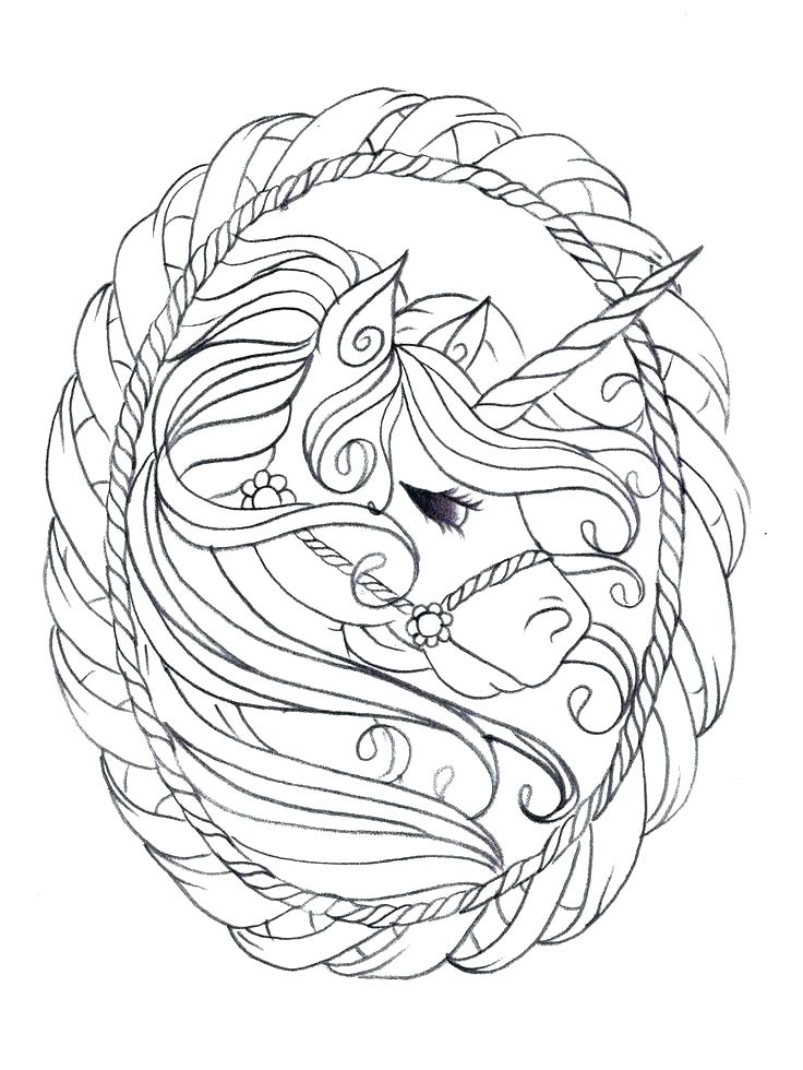 Unicorn Coloring Pages At Getdrawings Com Free For Personal Use