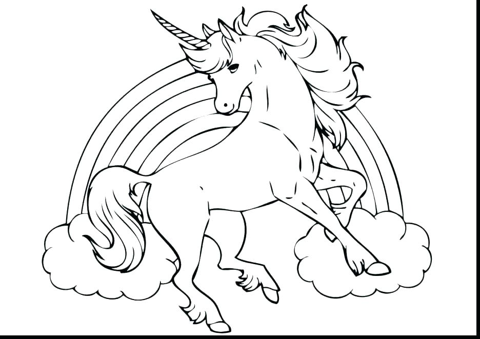 936x661 Cute Unicorn Coloring Pages Together With Unicorn Printable